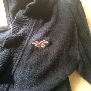 Hollister Jackets & Coats - Hollister  navy sweater